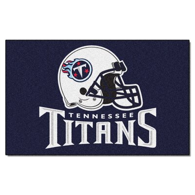 NFL - Tennessee Titans Doormat Rug Size: 5 x 8