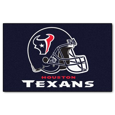 NFL - Houston Texans Doormat Mat Size: 5 x 8