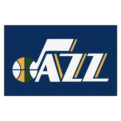 NBA - Utah Jazz Doormat Rug Size: 5 x 8