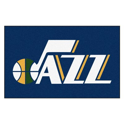 NBA - Utah Jazz Doormat Mat Size: 5 x 8