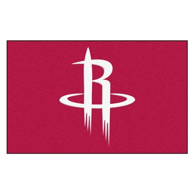 NBA - Houston Rockets Doormat Rug Size: 17 x 26