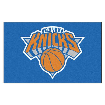 NBA - New York Knicks Doormat Rug Size: 5 x 8