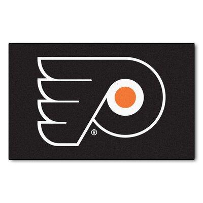NHL - Philadelphia Flyers Doormat Rug Size: 5 x 8