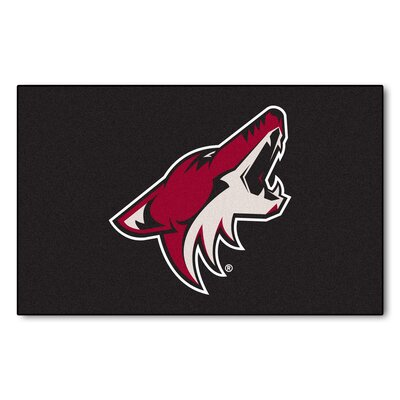 NHL - Arizona Coyotes Doormat Rug Size: 5 x 8