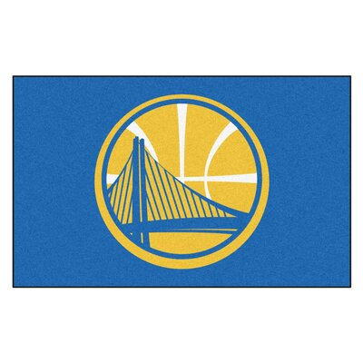 NBA - Golden State Warriors Doormat Mat Size: 5 x 8