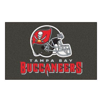 NFL - Tampa Bay Buccaneers Doormat Mat Size: 5 x 8