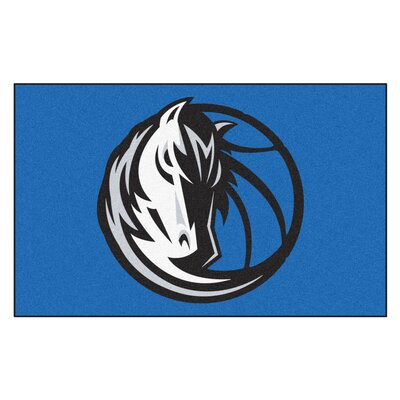 NBA - Dallas Mavericks Doormat Mat Size: 5 x 8