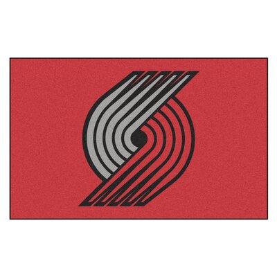NBA - Portland Trail Blazers Doormat Mat Size: 5' x 8'