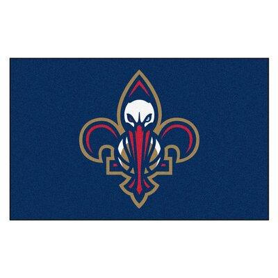NBA - New Orleans Pelicans Doormat Mat Size: Rectangle 5 x 8