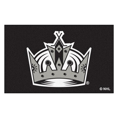 NHL - Los Angeles Kings Doormat Rug Size: 5 x 8