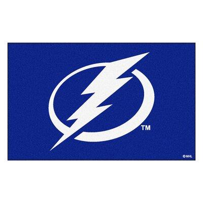 NHL - Tampa Bay Lightning Doormat Rug Size: 5 x 8