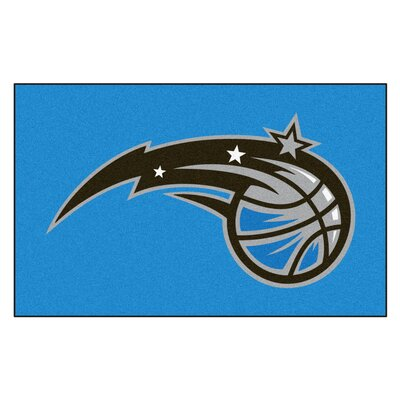 NBA - Orlando Magic Doormat Rug Size: 5 x 8