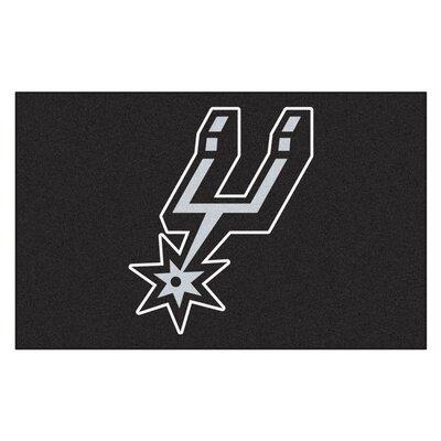 NBA - San Antonio Spurs Doormat Mat Size: 17 x 26