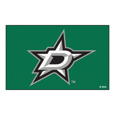 NHL - Dallas Stars Doormat Rug Size: 5 x 8