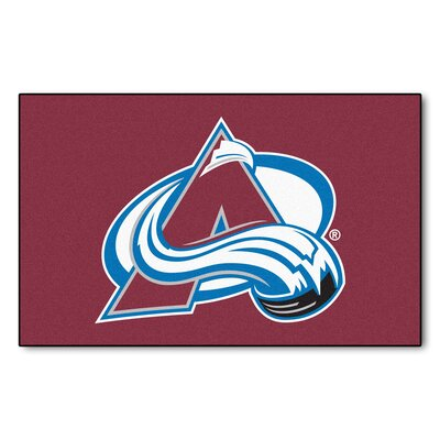 NHL - NCAAorado Avalanche Doormat Rug Size: 5 x 8