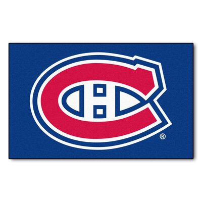 NHL - Montreal Canadiens Doormat Rug Size: 5 x 711