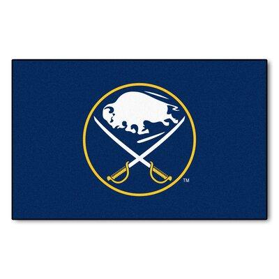 NHL - Buffalo Sabres Doormat Rug Size: 5 x 8