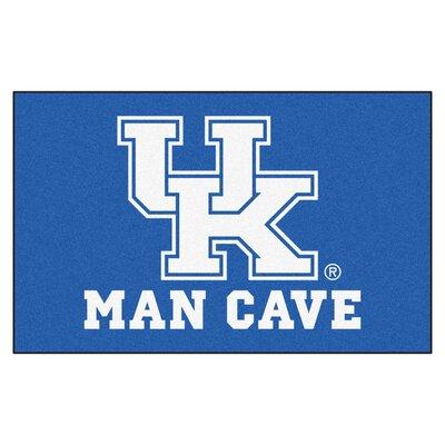 Collegiate NCAA University of Kentucky Man Cave Doormat