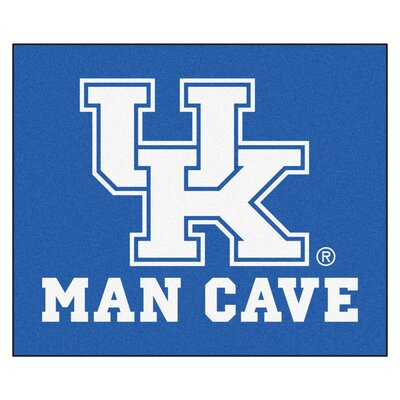 NCAA University of Kentucky Man Cave Indoor/Outdoor Area Rug