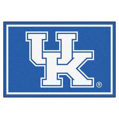 NCAA University of Kentucky Rug Rug Size: 310 x 6