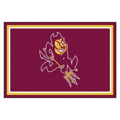 NCAA Arizona State University Rug Rug Size: 5 x 78