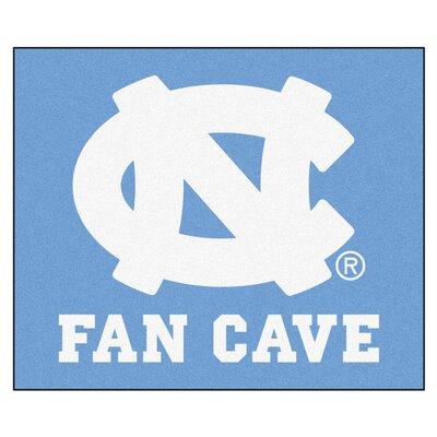NCAA University of North Carolina - Chapel Hill Fan Cave Indoor/Outdoor Area Rug