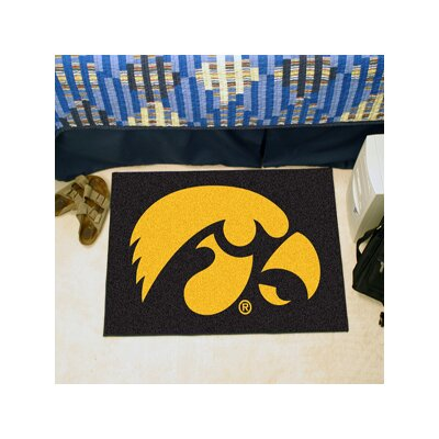 NCAA University of Iowa Starter Mat