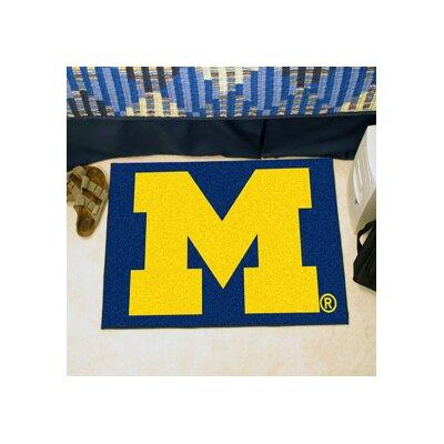 NCAA University of Michigan Starter Mat