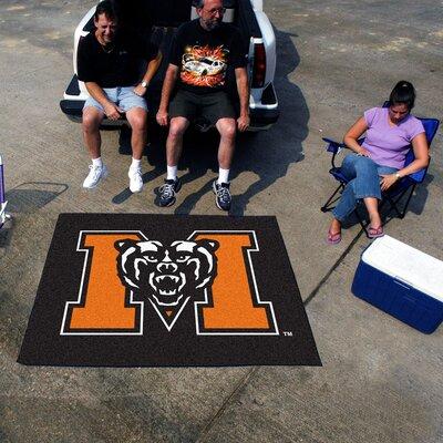NCAA Mercer University Indoor/Outdoor Area Rug