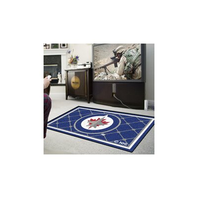 NHL Rug Rug Size: 310 x 6, NHL Team: Winnipeg Jets