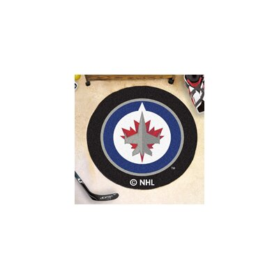 NHL - Winnipeg Jets Puck Mat