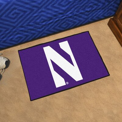 NCAA Northwestern University Starter Doormat