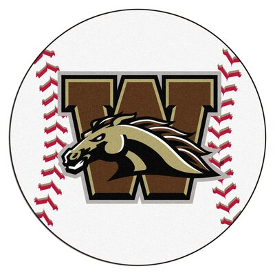 NCAA Western Michigan University Baseball Mat