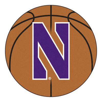 NCAA Northwestern University Basketball Mat