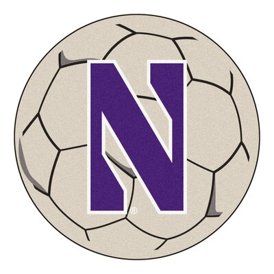 NCAA Northwestern University Soccer Ball