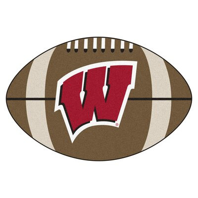 NCAA University of Wisconsin Football Doormat