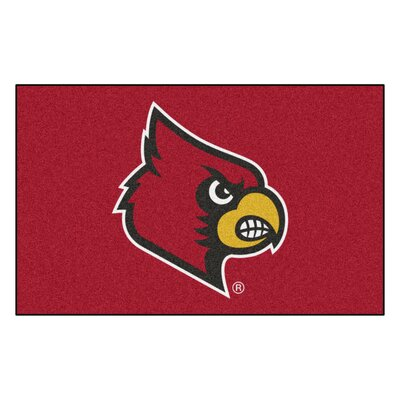Collegiate NCAA University of Louisville Doormat