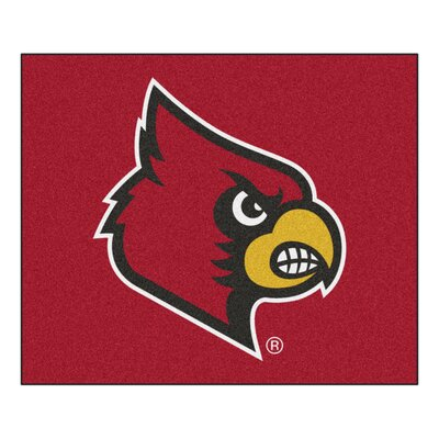 NCAA University of Louisville Indoor/Outdoor Area Rug