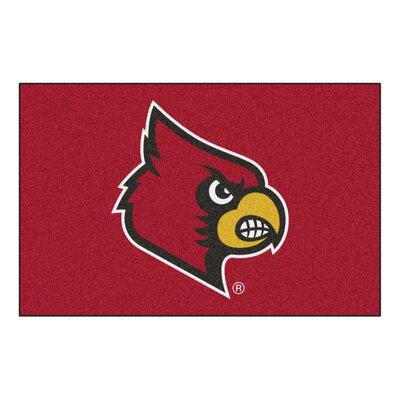 NCAA University of Louisville Starter Mat