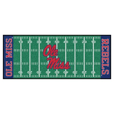 NCAA University of Mississippi (Ole Miss) Football Field Runner