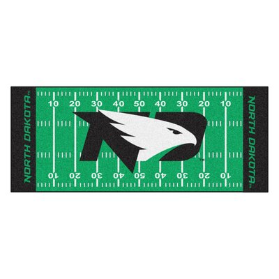 NCAA University of North Dakota Football Field Runner
