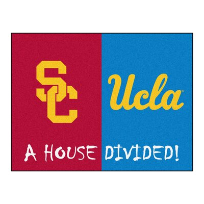 NCAA House Divided: USC / UCLA House Divided Mat