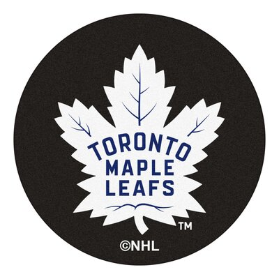NHL Puck Doormat NHL: Toronto Maple Leafs