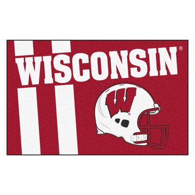 NCAA University of Wisconsin Starter Doormat