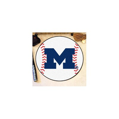NCAA University of Michigan Baseball Mat