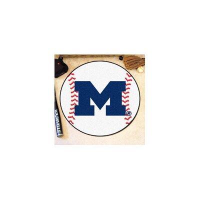 NCAA University of Michigan Baseball Mat