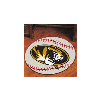 NCAA University of Missouri Baseball Mat