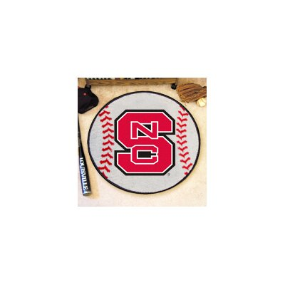 NCAA North Carolina State University Baseball Mat