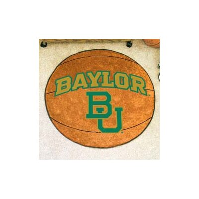 NCAA Baylor University Basketball Mat