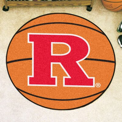 NCAA Rutgers University Basketball Mat